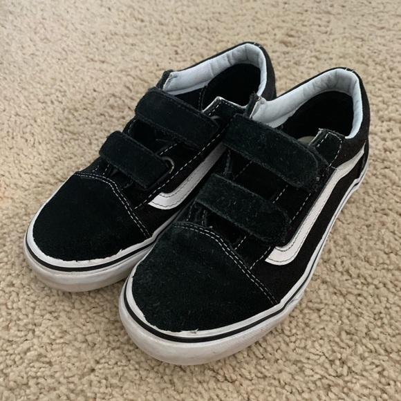 Vans Shoes | Kids Classic Black Vans
